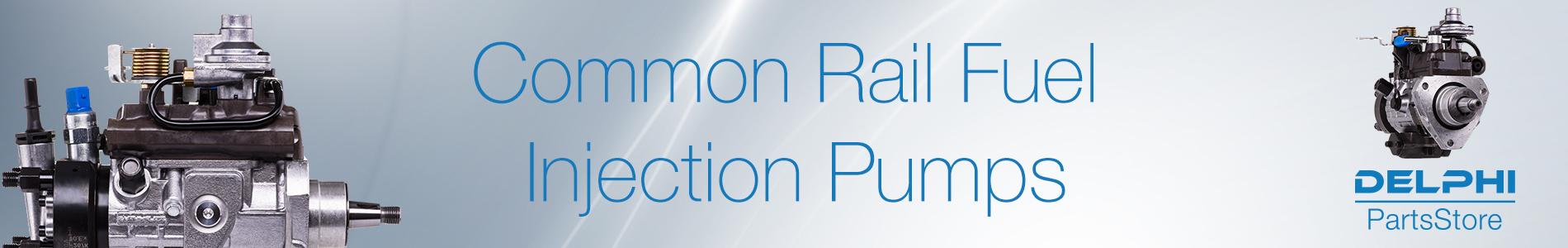Common Rail Fuel Injection Pumps