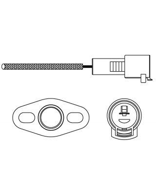 Delphi Oxygen Sensor ES10226-12B1