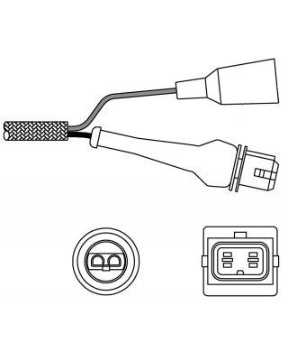 Delphi Oxygen Sensor ES10240-12B1