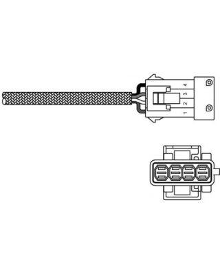 Delphi Exhaust Oxygen Sensor ES10797-12B1