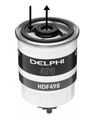 Delphi Diesel Fuel Filter HDF498